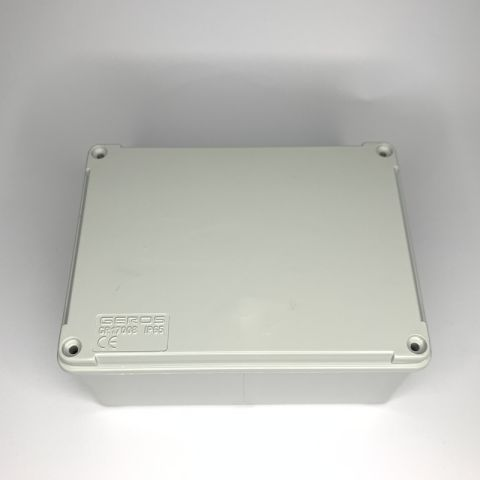 PVC JUNCTION BOX, PLAIN, SURFACE, IP65, 150mmX110mmX75mm