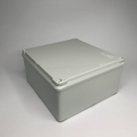 PVC JUNCTION BOX, PLAIN, SURFACE, IP65, 150mmX140mmX75mm