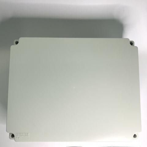 PVC JUNCTION BOX, PLAIN, SURFACE, IP65, 380mmX300mmX120mm