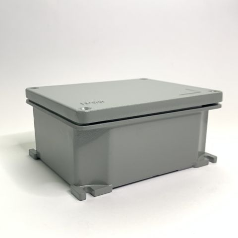 ALUMINIUM JUNCTION BOX IP66, 101mmX101mmX58mm