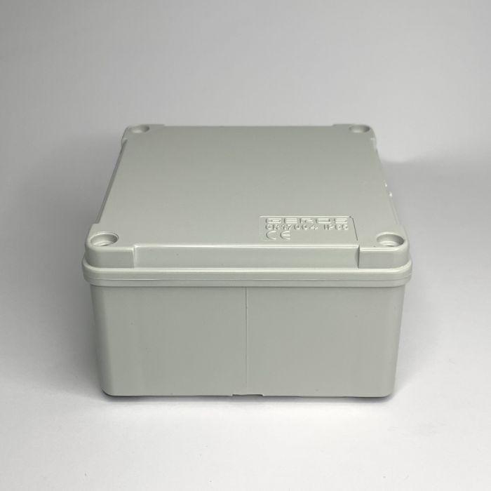 PVC JUNCTION BOX, PLAIN, SURFACE IP65,100mmX100mmX60mm