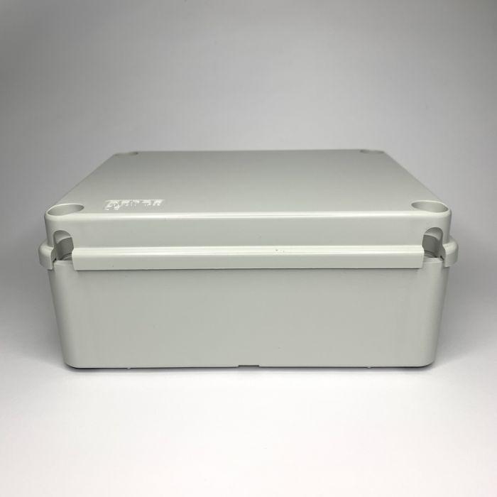 PVC JUNCTION BOX, PLAIN, SURFACE, IP65, 190mmX140mmX75mm