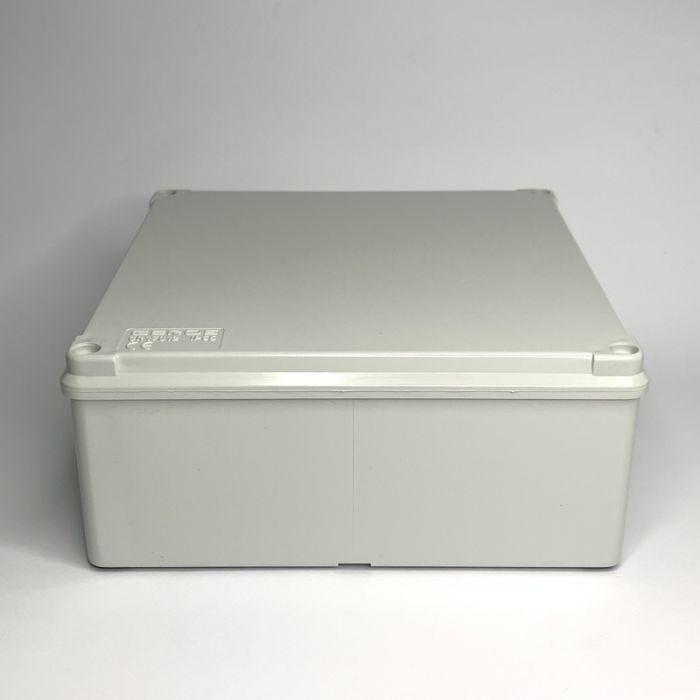 PVC JUNCTION BOX, PLAIN, SURFACE, IP65, 170mmX170mmX75mm