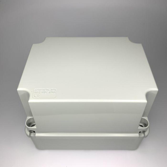 PVC JUNCTION BOX, PLAIN, SURFACE, IP65, 190mmX140mmX140mm