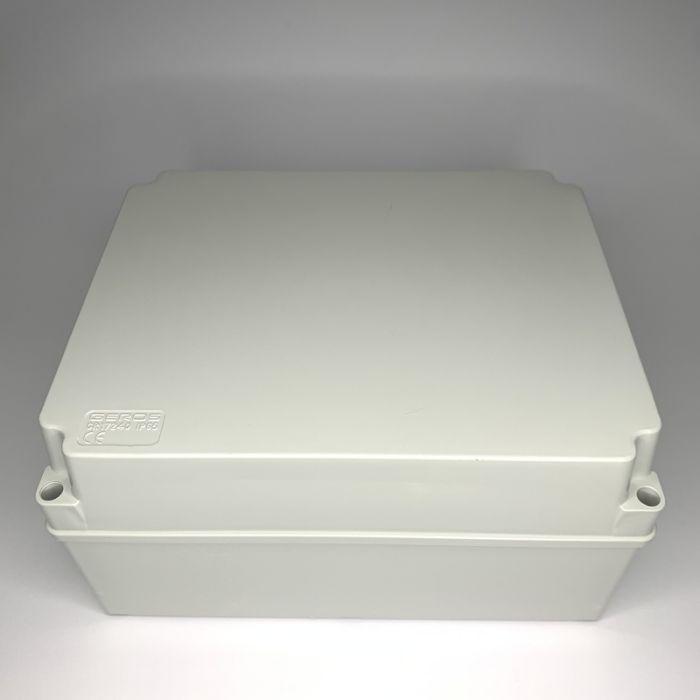 PVC JUNCTION BOX, PLAIN, SURFACE, IP65, 240mmX190mmX120mm