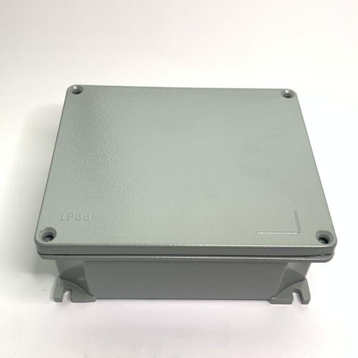 ALUMINIUM JUNCTION BOX, IP66, 165mmX140.5mmX63.5mm
