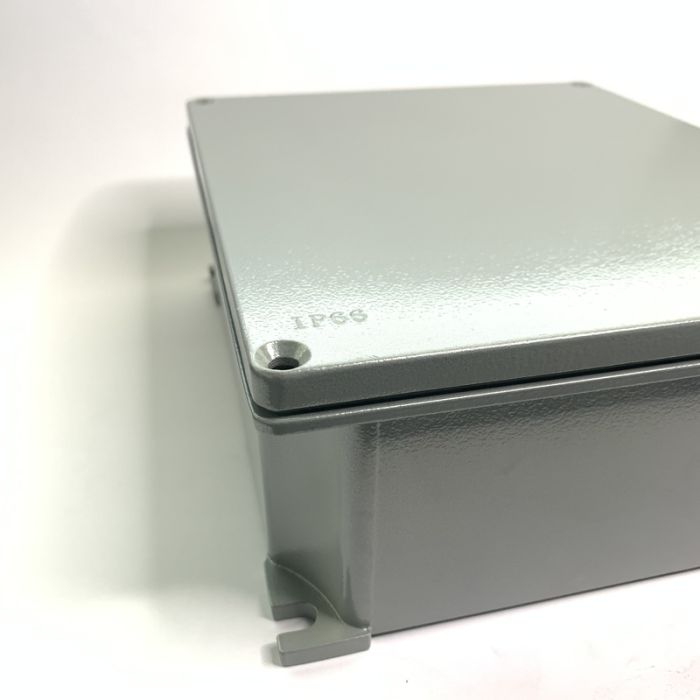ALUMINIUM JUNCTION BOX, IP66, 252mmX215mmX91mm