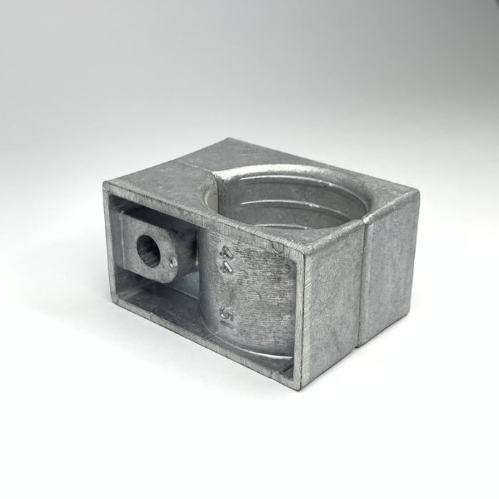 One Hole Two Part Aluminium Cable Clamp 44 - 51MM