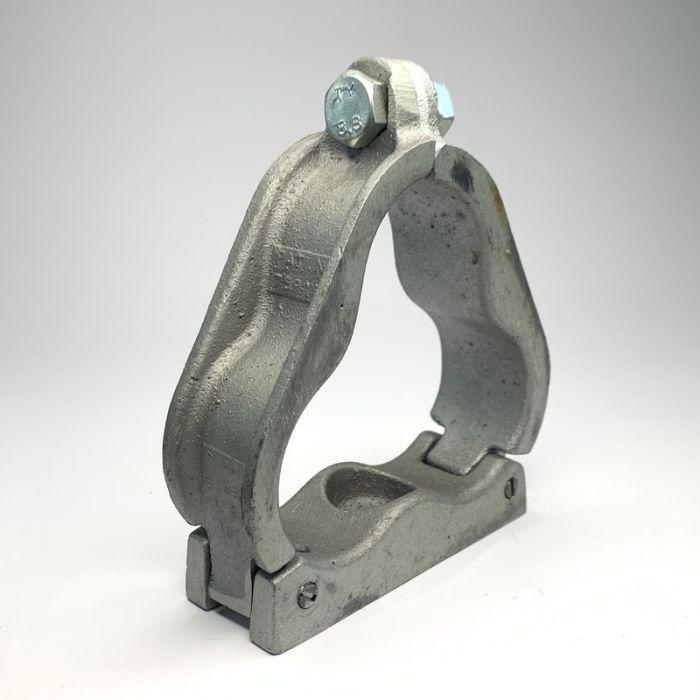 Single Hole Aluminium Trefoil Cleat 51 - 53MM