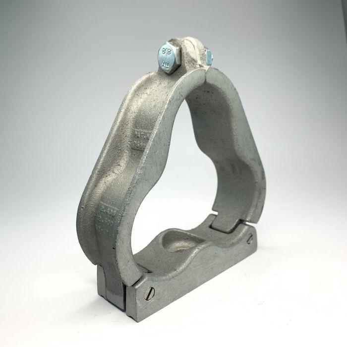 Single Hole Aluminium Trefoil Cleat 62 - 63.5MM